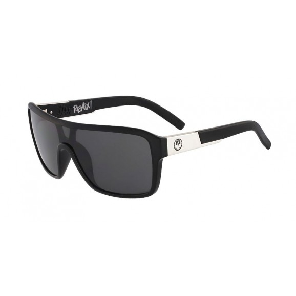 DRAGON The Jam Remix Sunglasses - Gloss Black/LL Smoke