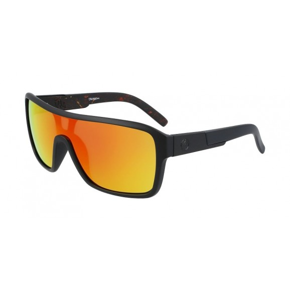 DRAGON The Jam Remix Sunglasses - Matte Black/Inferno/LL Red Ion