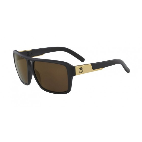 DRAGON The Jam Sunglasses - Matte Black /LL Copper Ion