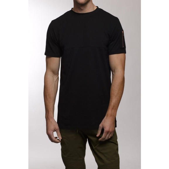 EMPEROR APPAREL Midnight Mens Tee - Black
