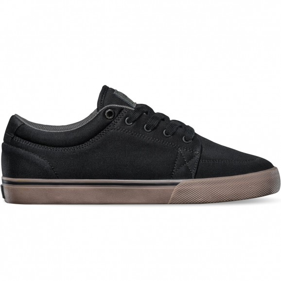 GLOBE GS Youth Low Shoe - Black/Tobacco