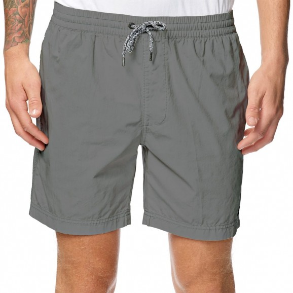 GLOBE Los Santos Youth Elastic Waist Walkshort - Grey