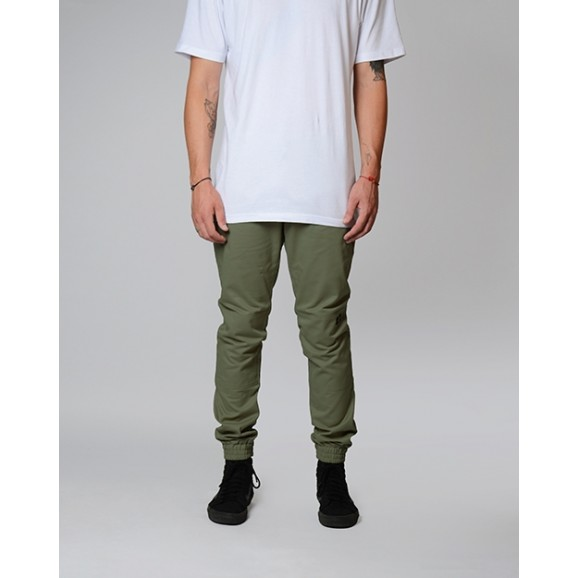 DICKIES CP918 Elastic Cuff Pants - Army Green