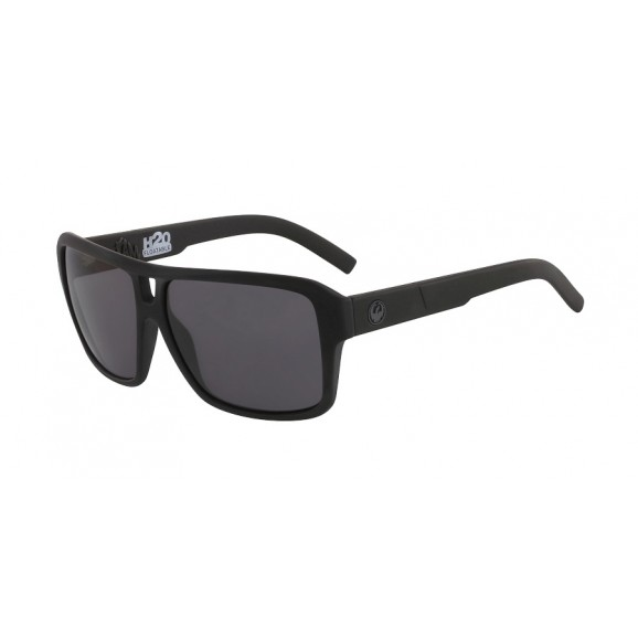 DRAGON The Jam H20 Polarised Sunglasses - Matte Black/LL Smoke