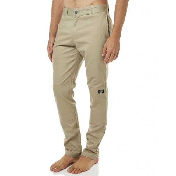 DICKIES 918 Slim Fit Double Knee Pants - Desert Sand