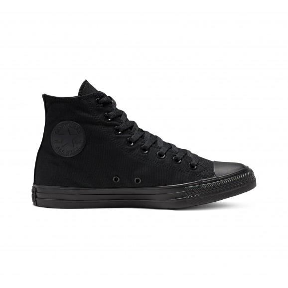 CONVERSE Chuck Taylor All Star Hi Shoe - Black Mono