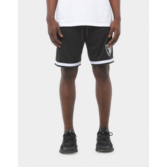 MAJESTIC ATHLETIC Oakland Raiders Dotel Mesh Mens Short - Black