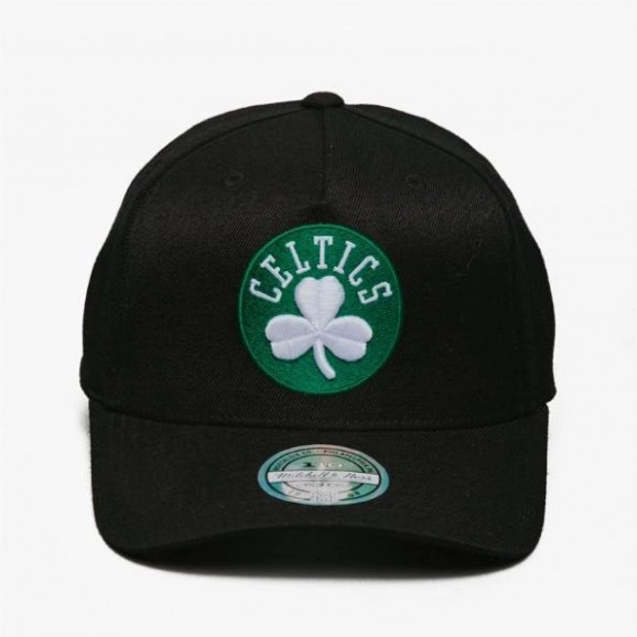 MITCHELL & NESS Boston Celtics 110 Snapback Cap - Black/Team