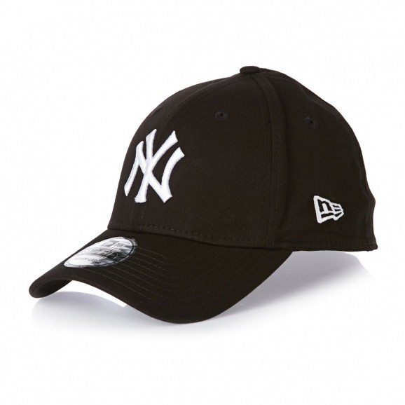 NEW ERA New York Yankees 3930 Stretch Fit Cap - Black/White