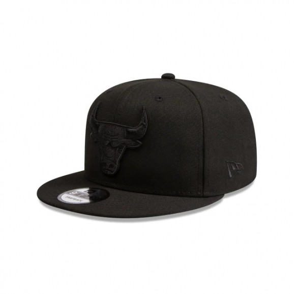 NEW ERA Chicago Bulls 950 Snapback Cap - Black/Black