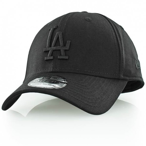 NEW ERA Los Angeles Dodgers 3930 Stretch Fit Cap - Black/Black