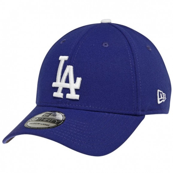 NEW ERA Los Angeles Dodgers 3930 Stretch Fit Cap - Royal Blue