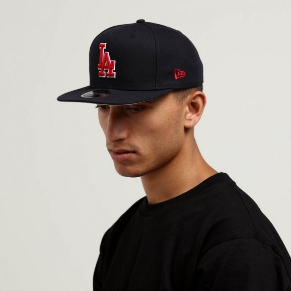 NEW ERA Los Angeles Dodgers 950 Snapback Cap - Navy/Red