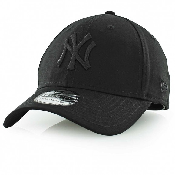 NEW ERA New York Yankees 3930 Stretch Fit Cap - Black/Black