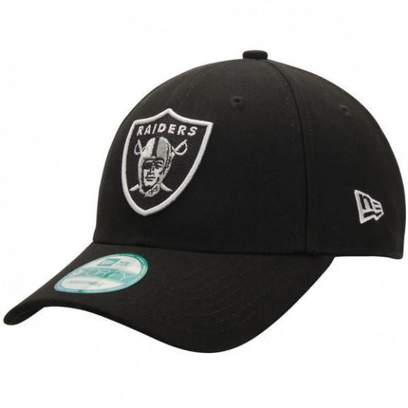 NEW ERA Oakland Raiders 940 Strap Back Cap - Black