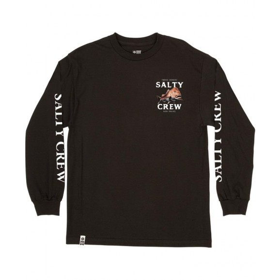 SALTY CREW Ol Knobby Mens Long Sleeve Tee - Black