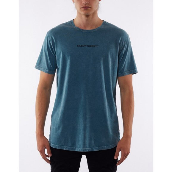 SILENT THEORY Graphic Mens Tee - Lake Blue