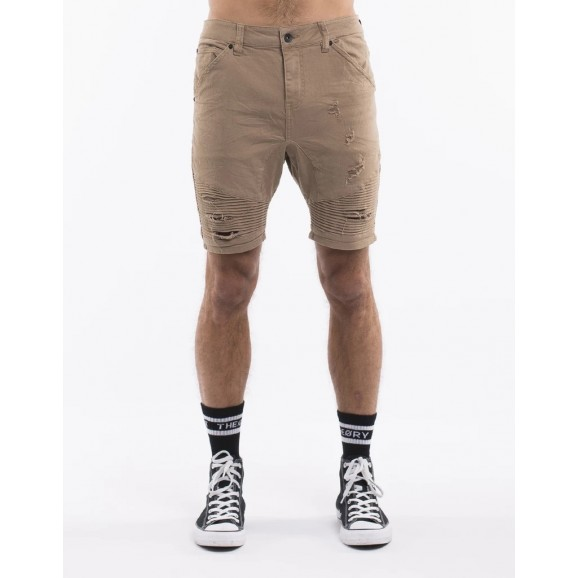 SILENT THEORY Outlaw Mens Shorts - Sand