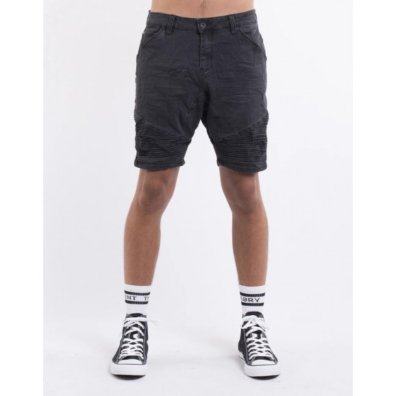 SILENT THEORY Outlaw Mens Shorts - Washed Black