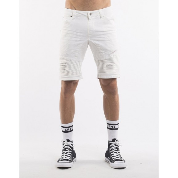 SILENT THEORY Outlaw Mens Shorts - White