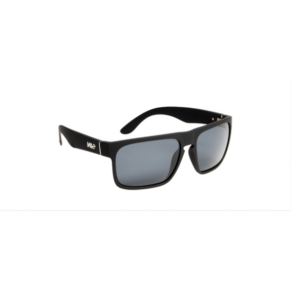 SIN Peccant Polarised Sunglasses - Rubber Raven/Smoke