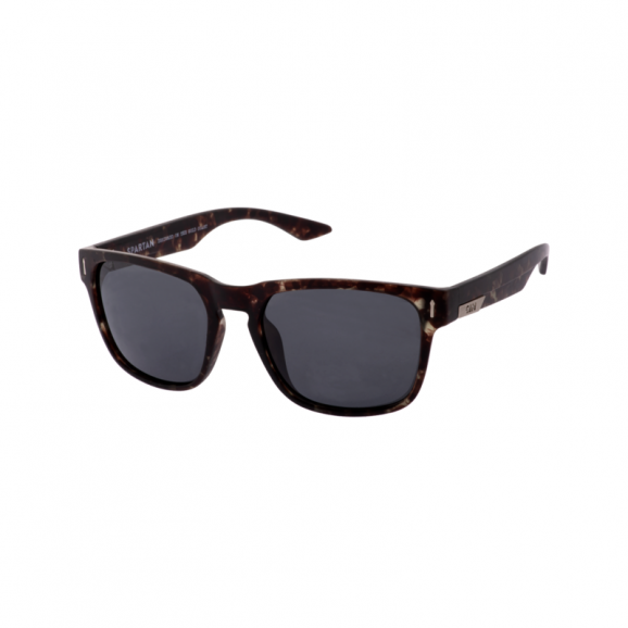 SIN Spartan Polarised Sunglasses - Matt Grey Tort/Smoke