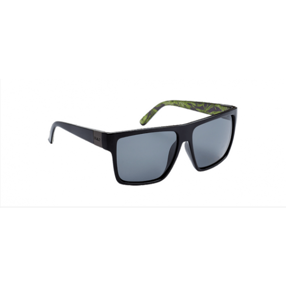 SIN Vespa Polarised Sunglasses - Raven/Print/Smoke