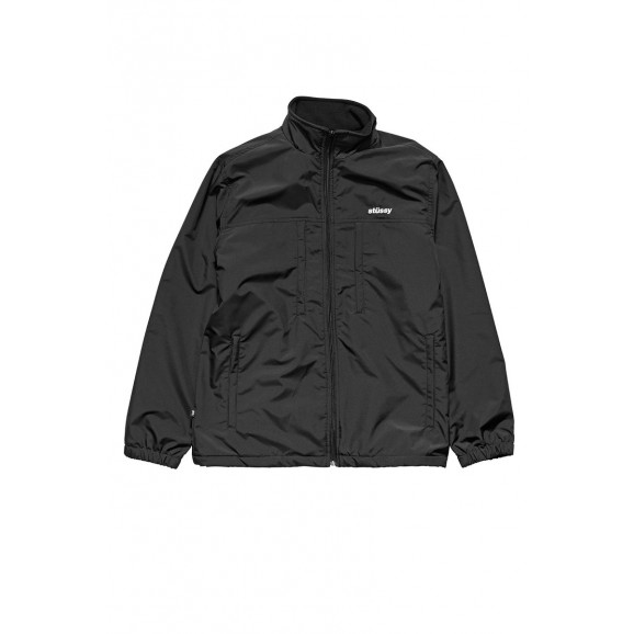 STUSSY Alpine Taslon Mens Spray Jacket - Black
