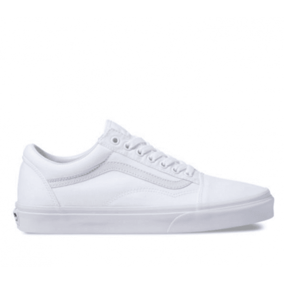 VANS Old Skool Shoe - True White