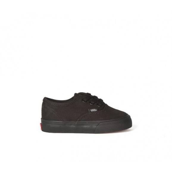 VANS Authentic Toddler Shoe - Black/Black