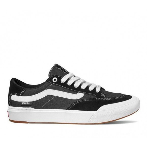 VANS Berle Pro Shoe - Black/True White