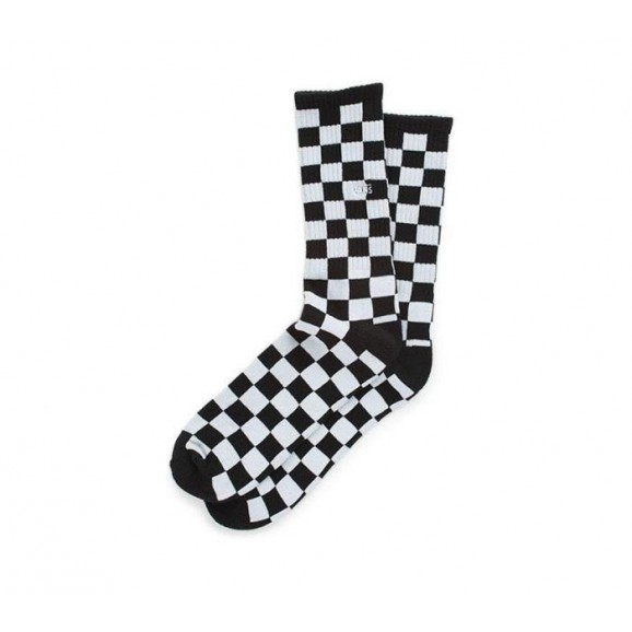 VANS Checkerboard II Crew 1pk Socks - Black Check