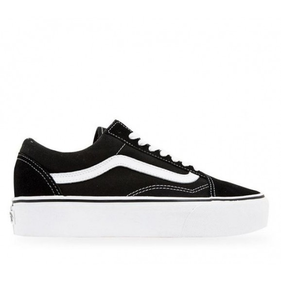 VANS Old Skool Platform Shoe - Black/White