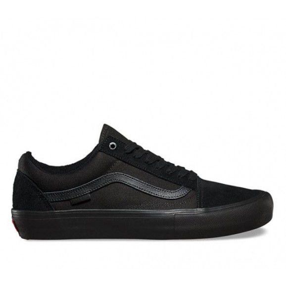 VANS Old Skool Pro Shoe - Blackout/Suede/Canvas