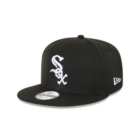 NEW ERA Chicago White Sox 950 Snapback Cap - Black/White