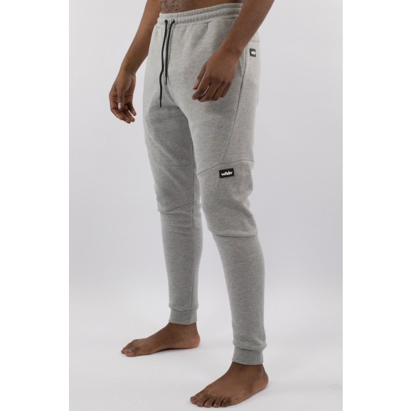 WNDRR Hoxton Mens Tech Trackpant - Grey Marle