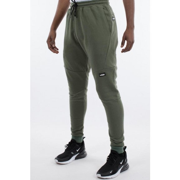 WNDRR Hoxton Mens Tech Trackpant - Olive Green