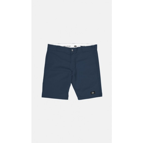 DICKIES 801 Skinny Straight Fit Shorts - Dark Navy